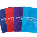 Oxford Campus Assorted Colours Casebound Soft A4 Notebook