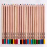 Pack of Personalised Coloured Pencils